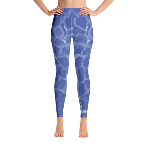 Blue Pool Yoga Leggings