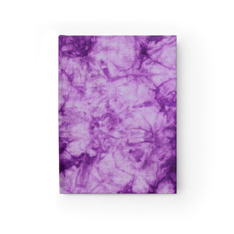Purple Tie Dye Journal