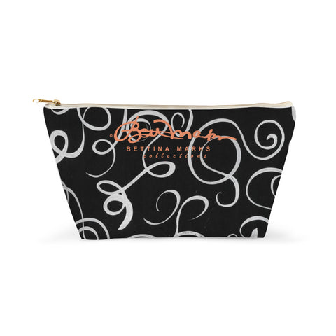 B&W Squiggles Accessory Pouch T-Bottom