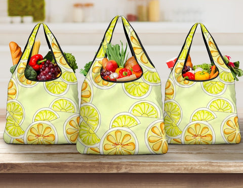 Citrus Fruits Grocery Bag