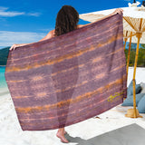 Purple Sunset Tie Dye Sarong