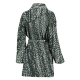 Tire Scribbles Bath Robe - Women