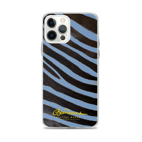 Blue Zebra iPhone Case (select model)