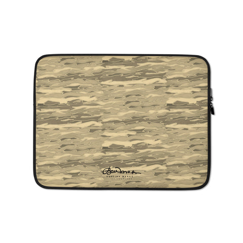 Tan Lava Lamp Laptop Sleeve
