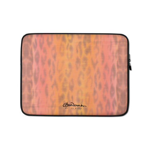Ombre Leopard Laptop Sleeve