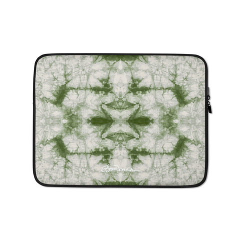Sage Tie Dye Laptop Sleeve