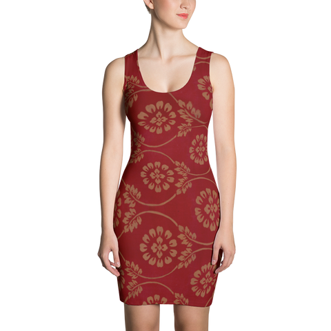 Turkish Tapestry Fitted Dress