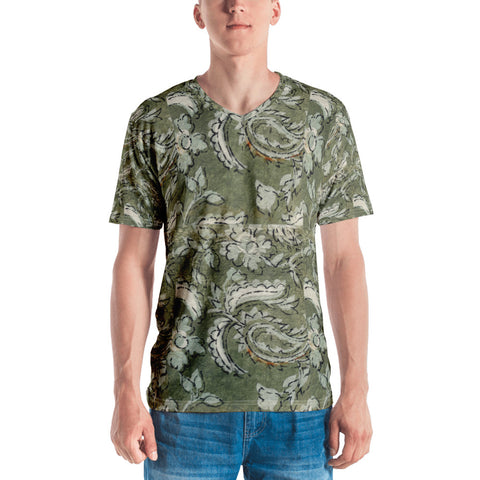 Floral Paisley Men's T-shirt
