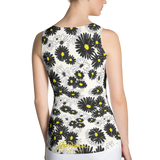 Daisy Fitted Tank Top Back