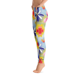 Sunrise Floral Leggings Left Side