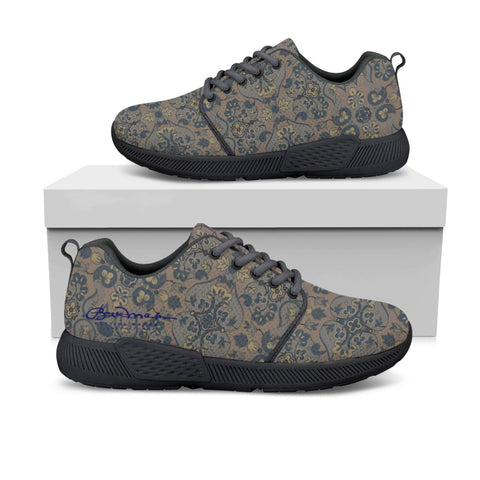 Not Quite Paisley Athletic Sneakers