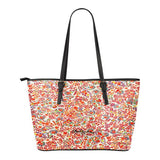 Retro Paisley Large Tote Bag