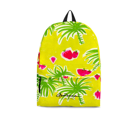 Strawberry Tropic Back Pack
