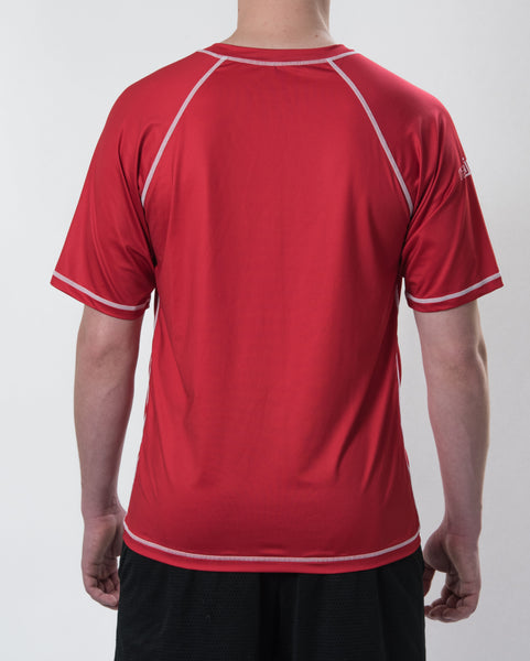 Men's DarkLight Reversible Short Sleeve Jersey - Signature Red and Graphite Grey Combo Pack