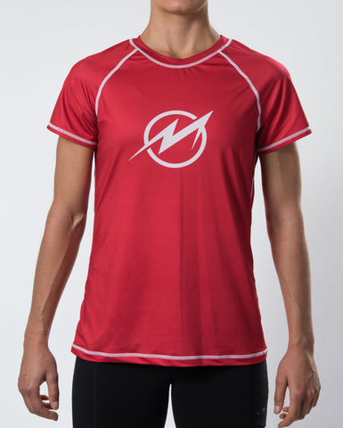 2-Pack Women's DarkLight Reversible Short Sleeve Jersey - Signature Red and Graphite Grey