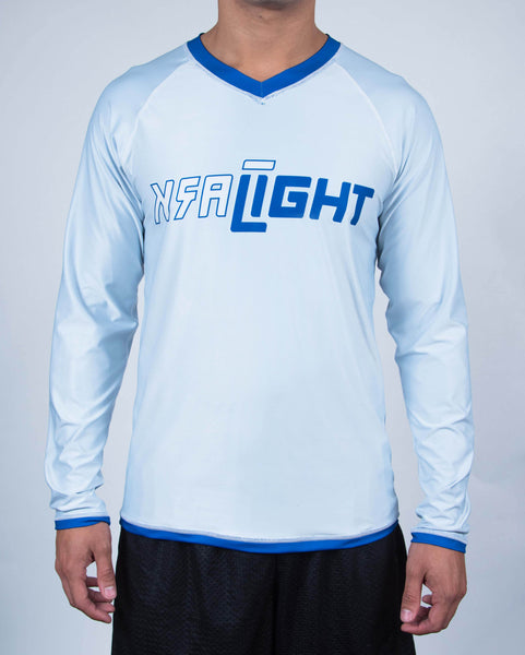 1-Pack Men's DarkLight Reversible Long Sleeve Jersey - Cobalt Blue