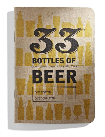 33 Beers - Beer Tasting Journal - North City Growlers