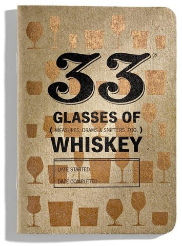 33 Whiskeys - Whiskey Tasting Journal - North City Growlers