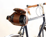 The Biker - Leather Growler Carrier