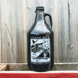Custom Designed Growler - 64oz Glass