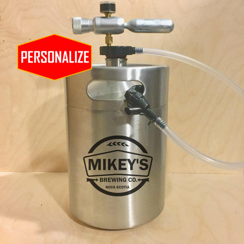 The Keg Kit (5L) - Keg with Tapping System - North City Growlers