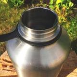 Sweet Silver Ninja - Stainless Steel Growler - North City Growlers