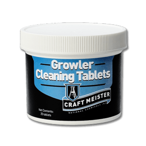 Growler Cleaning Tablets (25 tablets) - North City Growlers