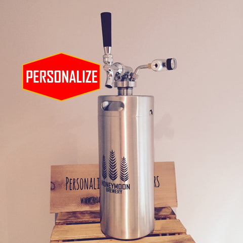 The Real Spear Kit - Keg w/ Real Dispenser - North City Growlers