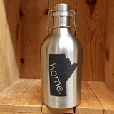 The SS Manitoban - Stainless Steel Growler - North City Growlers