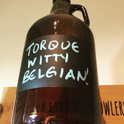 The Chalkboard - 64oz Growler with Chalkboard