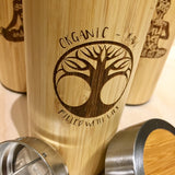 The Bamboo - Custom Designed Thermos - North City Growlers