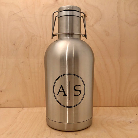 Double insulated beer growler