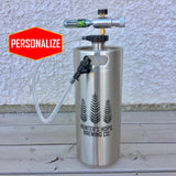 The Keg Kit (128oz) - Keg with Tapping System - North City Growlers