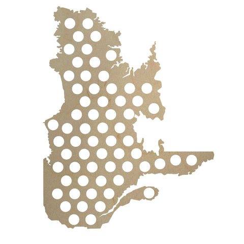 Cap Map - Quebec - North City Growlers