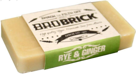 Bro Brick Rye and Ginger Soap (125 g) - North City Growlers