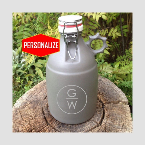 The Sprocket - Flip Top Ceramic Growler - North City Growlers