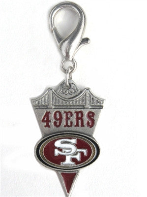 NFL™ Licensed San Francisco 49'ers Charm