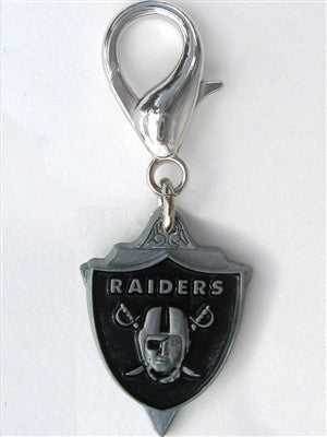 NFL Licensed Oakland Raiders Team Logo Charm