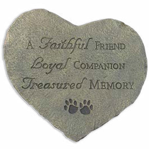 Memory Stone - A Faithful Friend