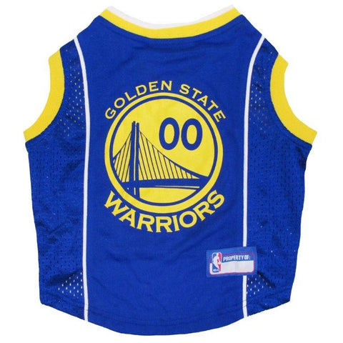 Golden State Warriors - Pet Basketball Jersey