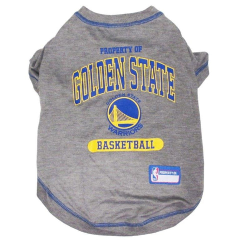 Golden State Warriors - Pet Basketball Tee