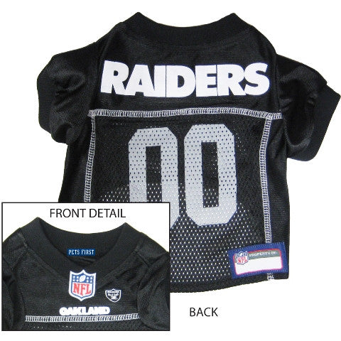 Oakland Raider Pet Jersey