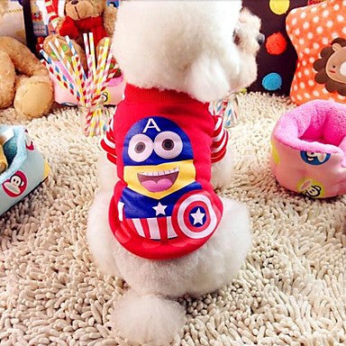 Cosplay Tee - Minion dressed as Captain America