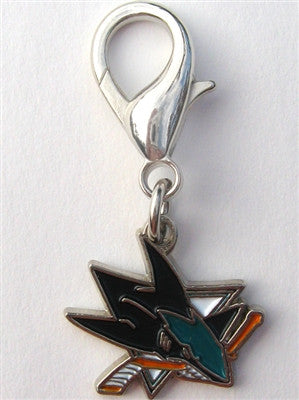 NHL™ Licensed San Jose Sharks Collar Charm