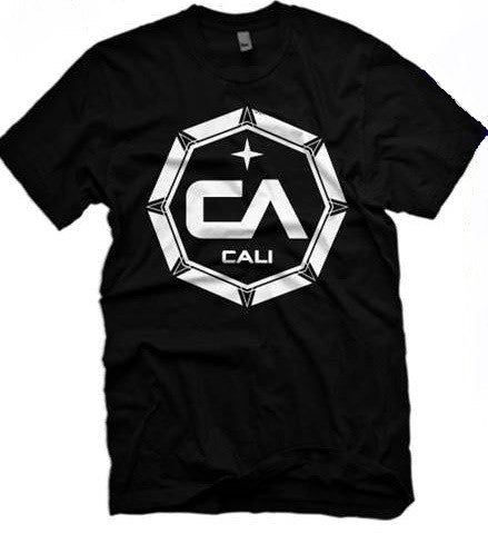 Black CA T-shirt (Octagon)