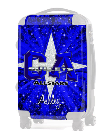 Luggage INSERT Replacement Design 1- California All Stars