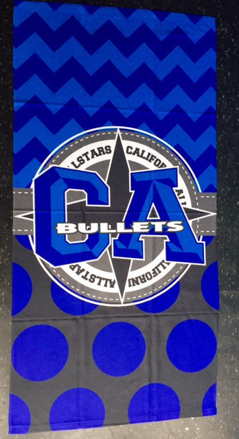 CA Bullets Towel
