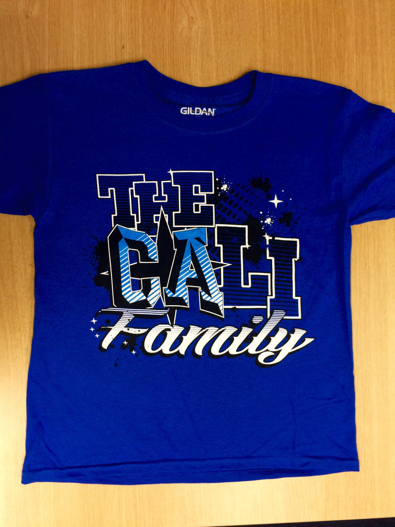 Blue Cali Family T-Shirt