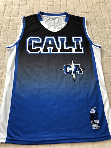 Cali basketball jersey