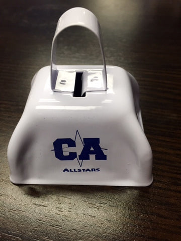 CA Bullets Cow Bell